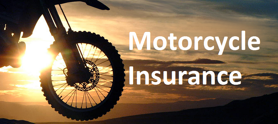 image of motorcycle insurance sign